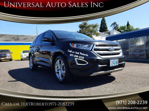 2015 Ford Edge for sale at Universal Auto Sales Inc in Salem OR