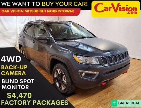 2017 Jeep Compass for sale at Car Vision Mitsubishi Norristown in Trooper PA