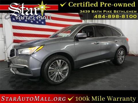 2017 Acura MDX for sale at STAR AUTO MALL 512 in Bethlehem PA