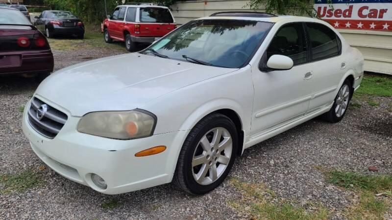2002 Nissan Maxima for sale at Jackson Motors Used Cars in San Antonio TX