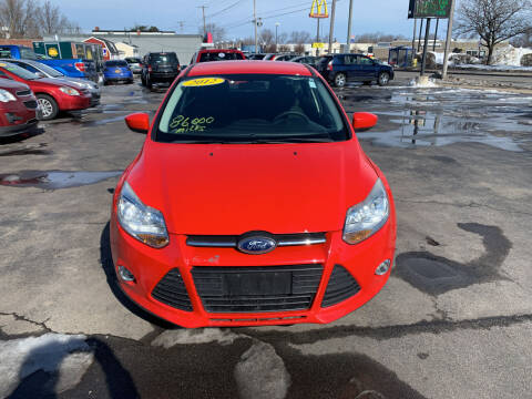 2012 Ford Focus for sale at L.A. Automotive Sales in Lackawanna NY