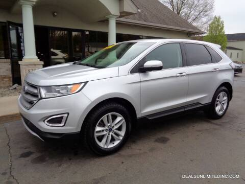 2017 Ford Edge for sale at DEALS UNLIMITED INC in Portage MI