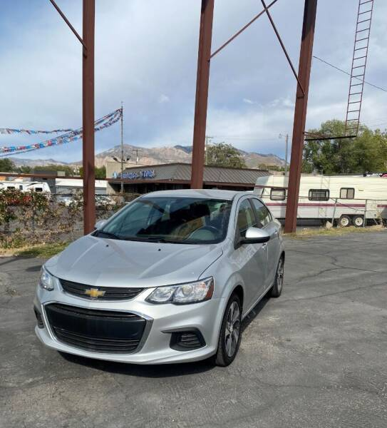2018 Chevrolet Sonic for sale at Smart Buy Auto Sales in Ogden UT