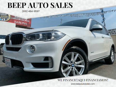 2015 BMW X5 for sale at Beep Auto Sales in National City CA