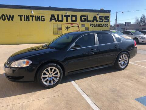 2012 Chevrolet Impala for sale at D & M Vehicle LLC in Oklahoma City OK