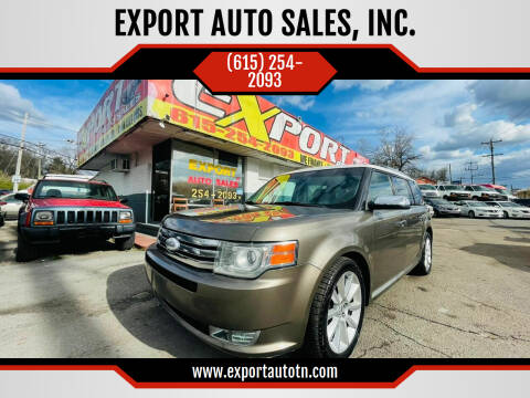 2012 Ford Flex for sale at EXPORT AUTO SALES, INC. in Nashville TN