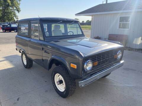 1976 Ford Bronco for sale at B & B Auto Sales in Brookings SD
