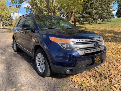 2011 Ford Explorer for sale at BELOW BOOK AUTO SALES in Idaho Falls ID
