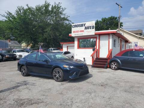 2018 Toyota Camry for sale at Crosby Auto LLC in Kansas City MO