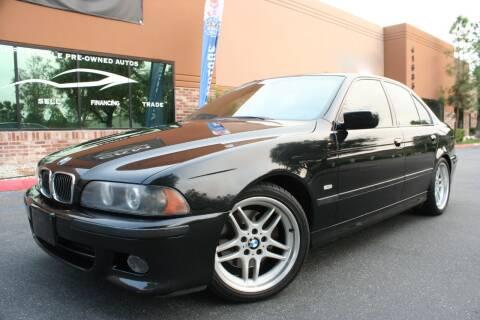 2003 BMW 5 Series for sale at CK Motors in Murrieta CA