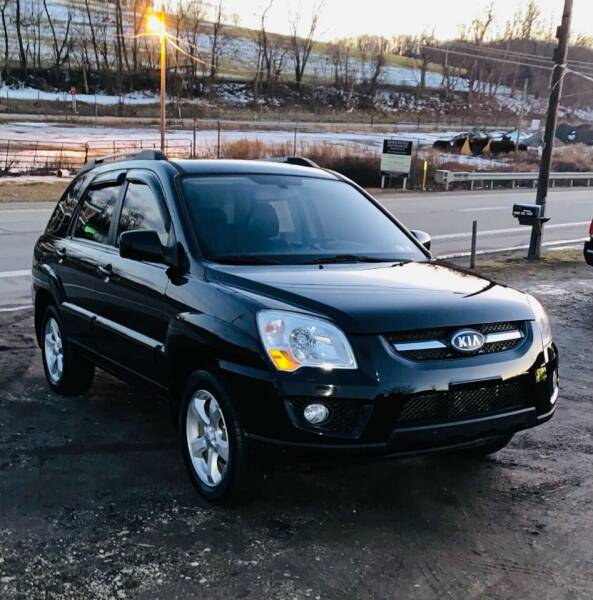 2010 Kia Sportage for sale at Best For Less Auto Sales & Service LLC in Dunbar PA