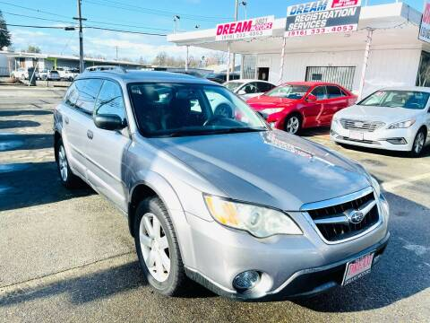 2009 Subaru Outback for sale at Dream Motors in Sacramento CA