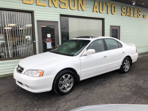 2000 Acura TL for sale at Superior Auto Sales in Duncansville PA