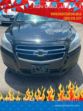 2013 Chevrolet Malibu for sale at Right Choice Automotive in Rochester NY