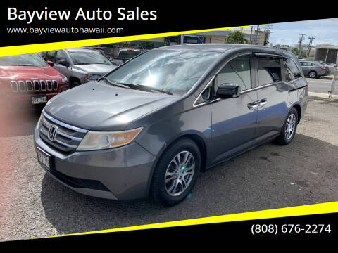 2013 Honda Odyssey for sale at Bayview Auto Sales in Waipahu HI