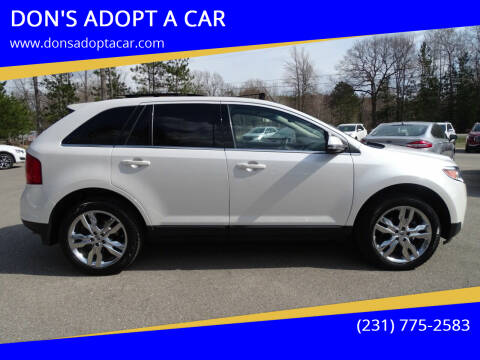 2014 Ford Edge for sale at DON'S ADOPT A CAR in Cadillac MI