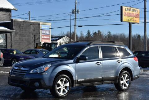 2013 Subaru Outback for sale at Broadway Garage of Columbia County Inc. in Hudson NY