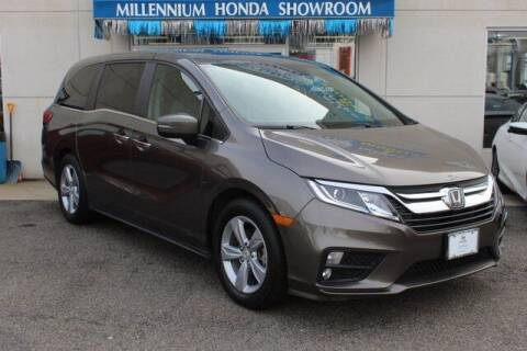 2018 Honda Odyssey for sale at MILLENNIUM HONDA in Hempstead NY