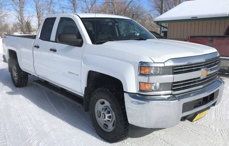 2015 Chevrolet Silverado 2500HD for sale at Central City Auto West in Lewistown MT