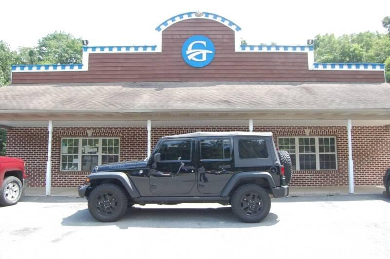 2017 Jeep Wrangler Unlimited for sale at Gardner Motors in Elizabethtown PA