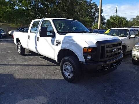 2008 Ford F-250 Super Duty for sale at DONNY MILLS AUTO SALES in Largo FL