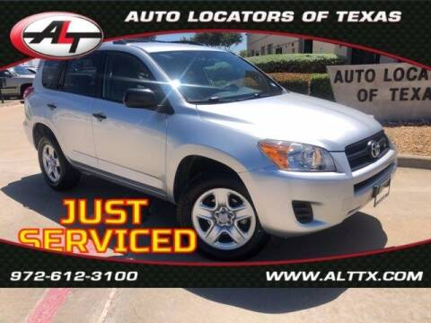 2009 Toyota RAV4 for sale at AUTO LOCATORS OF TEXAS in Plano TX
