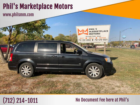 2009 Chrysler Town and Country for sale at Phil's Marketplace Motors in Arnolds Park IA