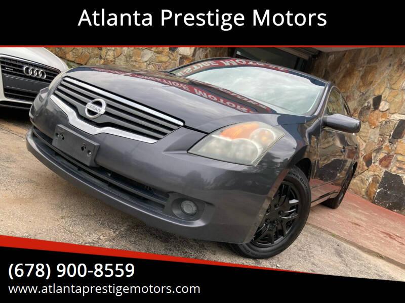 2009 Nissan Altima for sale at Atlanta Prestige Motors in Decatur GA