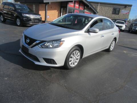 2018 Nissan Sentra for sale at Riverside Motor Company in Fenton MO