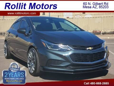 2018 Chevrolet Cruze for sale at Rollit Motors in Mesa AZ