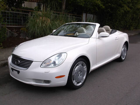 2004 Lexus SC 430 for sale at Eastside Motor Company in Kirkland WA