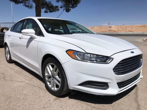 2016 Ford Fusion for sale at Eastside Auto Sales in El Paso TX