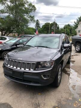 2015 Jeep Compass for sale at Jimmys Auto Sales in North Providence RI