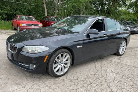 2013 BMW 5 Series for sale at TRANS P in East Windsor CT