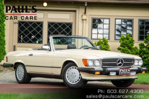 1987 Mercedes-Benz 560-Class for sale at Paul's Car Care in Manchester NH