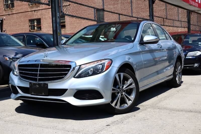 2017 Mercedes-Benz C-Class for sale at HILLSIDE AUTO MALL INC in Jamaica NY
