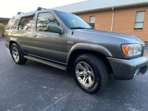 2004 Nissan Pathfinder for sale at Wheel Tech Motor Vehicle Sales in Maylene AL