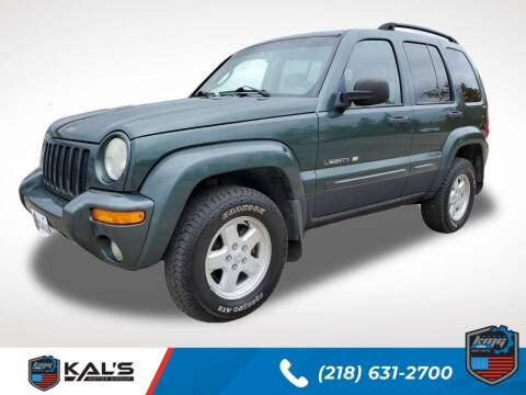 2002 Jeep Liberty for sale at Kal's Kars - SUVS in Wadena MN