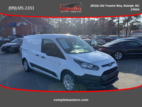2017 Ford Transit Connect Cargo for sale at Complete Auto Center , Inc in Raleigh NC
