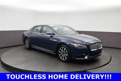 2018 Lincoln Continental for sale at M & I Imports in Highland Park IL