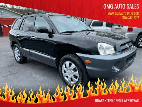 2005 Hyundai Santa Fe for sale at GMG AUTO SALES in Scranton PA