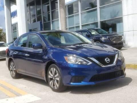 2019 Nissan Sentra for sale at DORAL HYUNDAI in Doral FL