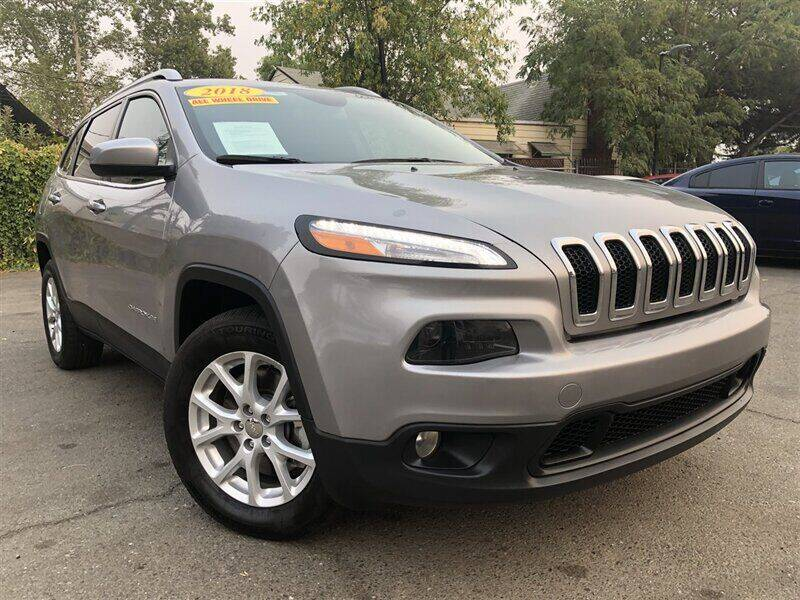 2018 Jeep Cherokee for sale at Stunning Auto in Sacramento CA