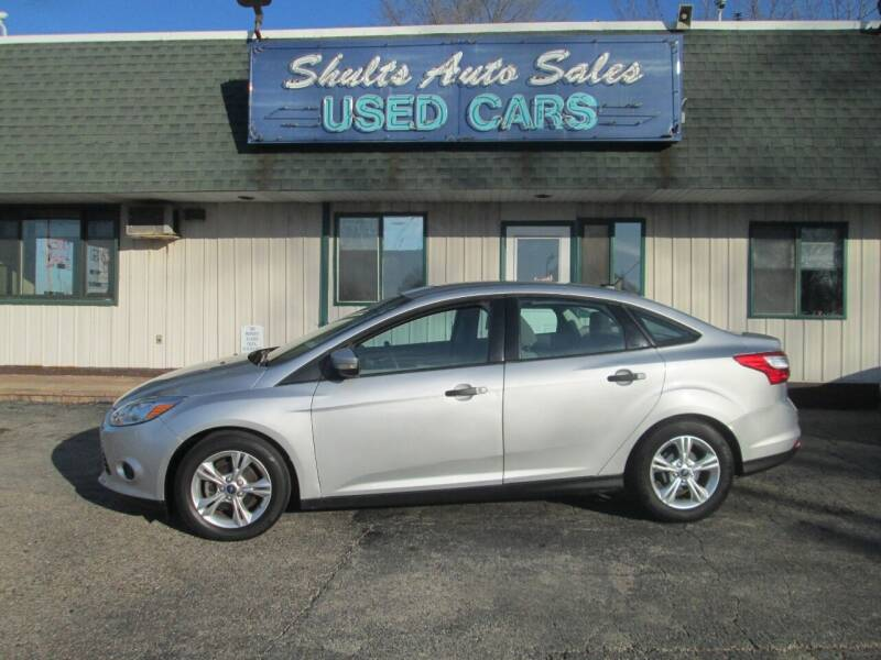 2013 Ford Focus for sale at SHULTS AUTO SALES INC. in Crystal Lake IL