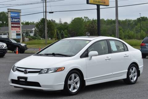 2008 Honda Civic for sale at Broadway Garage of Columbia County Inc. in Hudson NY