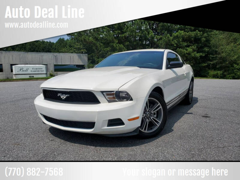 2010 Ford Mustang for sale at Auto Deal Line in Alpharetta GA