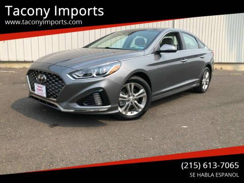 2019 Hyundai Sonata for sale at Tacony Imports in Philadelphia PA
