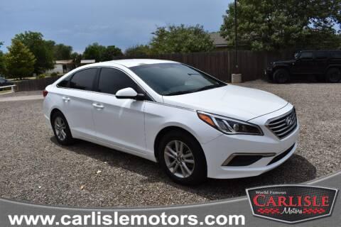 2017 Hyundai Sonata for sale at Carlisle Motors in Lubbock TX