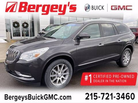 2017 Buick Enclave for sale at Bergey's Buick GMC in Souderton PA