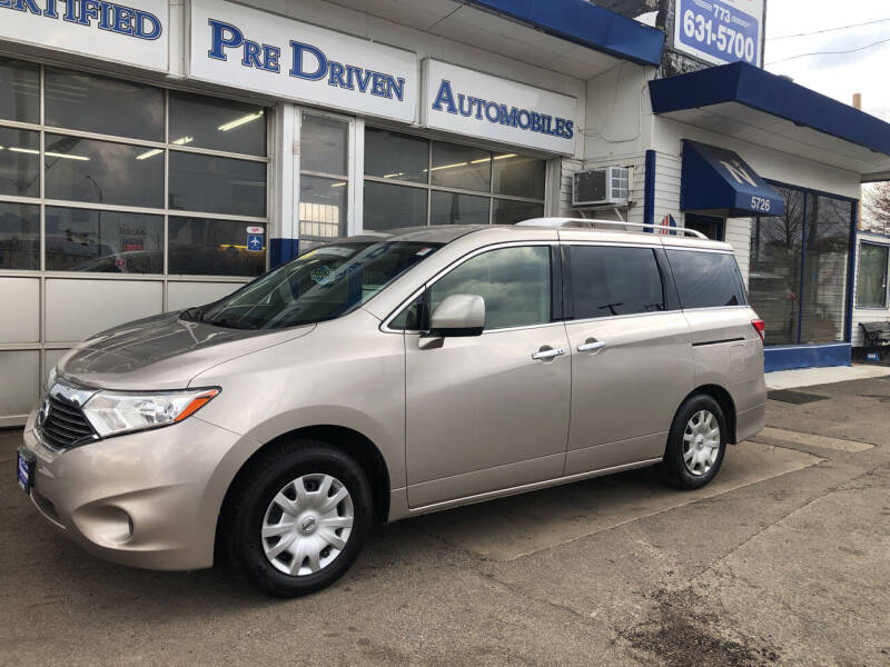 2012 Nissan Quest for sale at Jack E. Stewart's Northwest Auto Sales, Inc. in Chicago IL